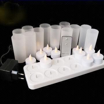 Wholesales Rechargeable Flickering Flameless LED