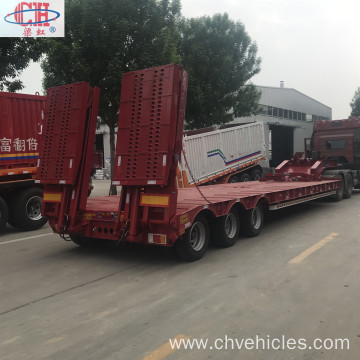 3 Axle Lowbed Lowboy Trailer For Sale