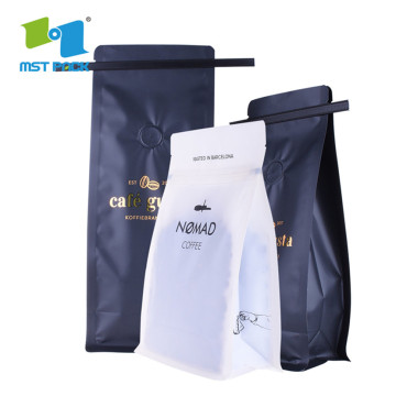 Alumimum Foil Coffee Beans Packaging Bags Valve bag