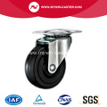 3'' Swivel Black Rubber Light Duty Industrial Caster