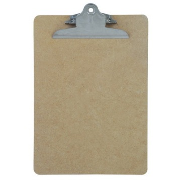 A5 Wooden ClipBoard