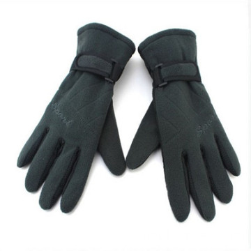 Custom Logo Winter Fleece Gloves Ny Design
