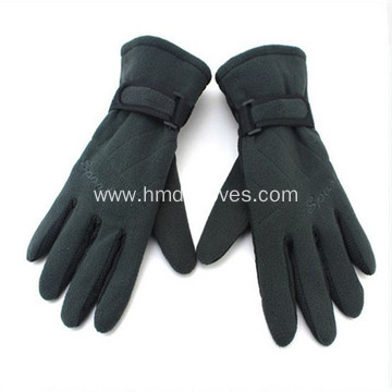 Custom Logo Fleece Gloves New Design