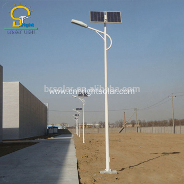 Streetlight With Solar Battery