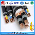 1KV Copper Conductor XLPE Insulation PVC Outer Sheath