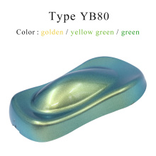 YB80 Chameleon Pigments Acrylic Paint Powder Coating Chameleon Dye for Cars Arts Crafts Nails Decoration Painting Supplies 10g