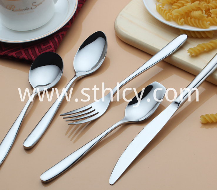 Stainless Steel Western Tableware1