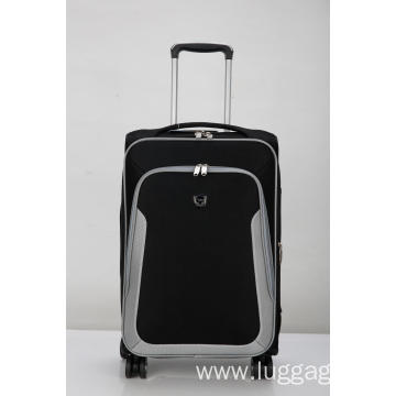 Stylish expandable zipper luggage