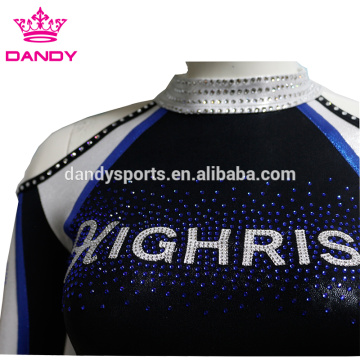 Custom belly girls cheer uniforms