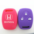 Silicone replacement key fob cases for honda