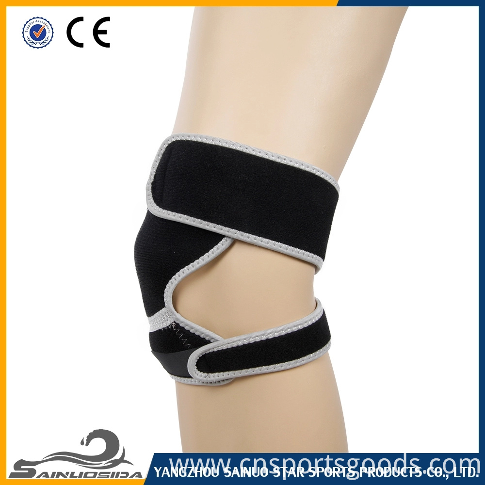 Soft neoprene knee pad