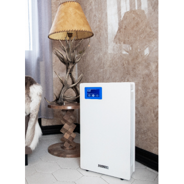 Indoor air purifier disinfectant