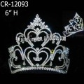 Crystal 6 Inch Pageant Crowns And Tiaras