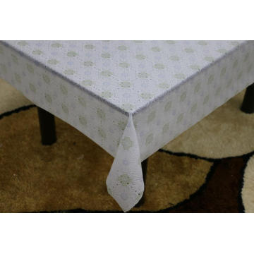 Printed pvc lace tablecloth by roll cath kidston