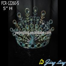 New Fashion Custom King Peacock Crowns