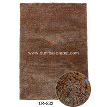 Thin Microfiber Carpet / Rug with Space Dyed Yarn