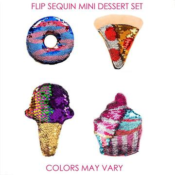 FLIP SEQUIN MINI DESSERT SET -0