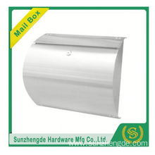 SMB-002SS Wholesales Fashion Modern All Mounted Stainless Steel Mailbox