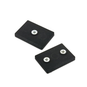 Rubber Covered Rectangular Rare Earth Magnet