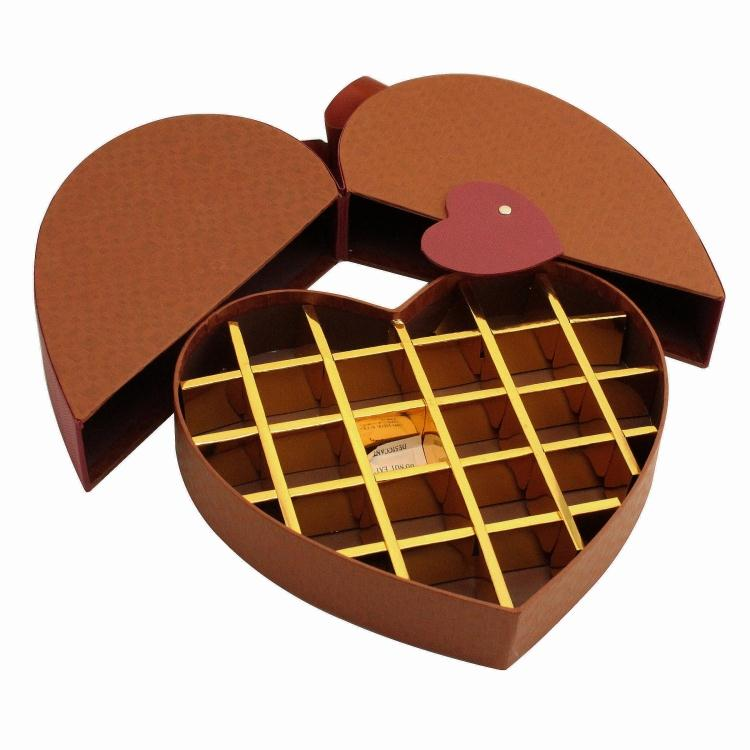Tether Clamshell Hand-made Chocolate Paper Box