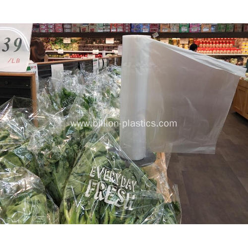 Plastic Food Packing Roll Bag