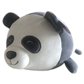 Panda 3D throw pillow