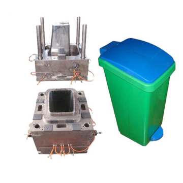 Indoor small garbage bin plastic injection mould