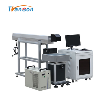 100W CO2 Laser Marking Machine Engrave Cut Leather