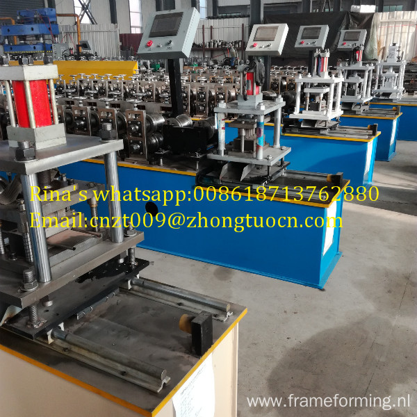 steel door making machines good steel profile roller shutter door machine gate frame roll forming machine