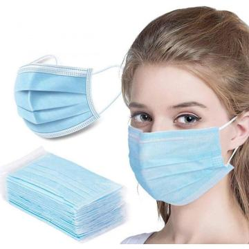 3ply Safety Face Mask Dustproof Mouth Cover
