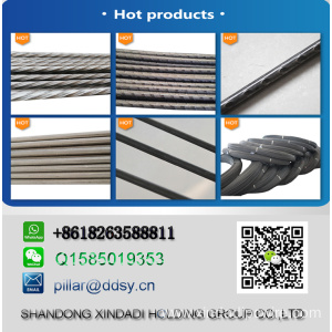 high carbon steel 4.8mm prestressed concrete wire