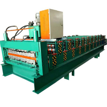 two profile layer roll forming machine