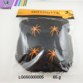 Halloween horror party scene props stretch spider webs