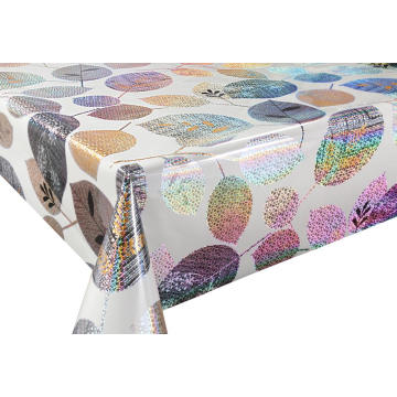 3D Laser Coating Tablecloth with Felt Backing