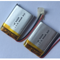 400mAh Lipo Battery For Wireless Dash Cam (LP2X3T5)