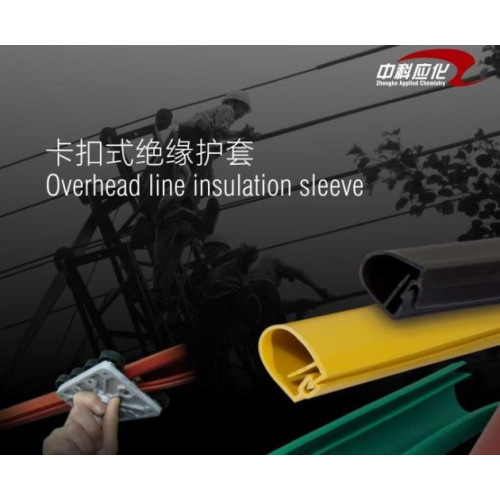 35KV Snap-on Silicone Rubber Insulated Sheathed Tube