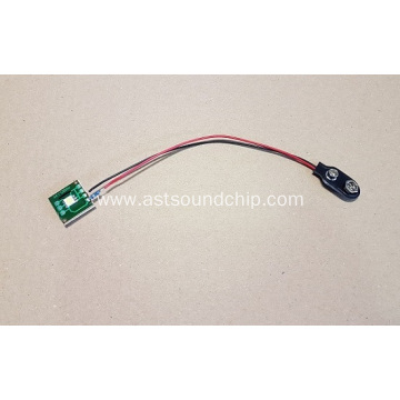 Led flashing module for pop display,led flasher,button light,single light with battery holder plug