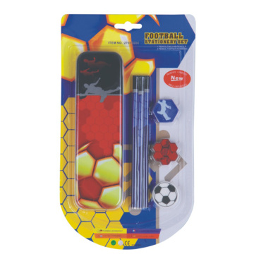 School Stationery Set including pencil topper rubber