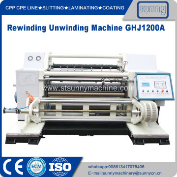 Slitter rewinder economic for film