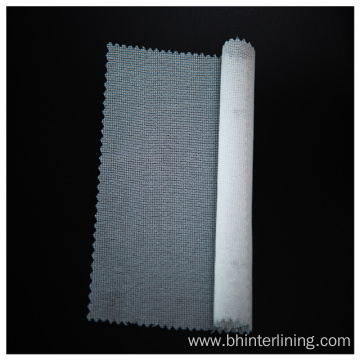 Enzyme washed plain weave low stretch Interlining fabric