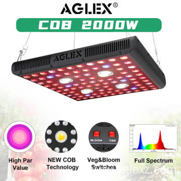 Aglex High Efficiency 2000W LED Plant Grow Lights