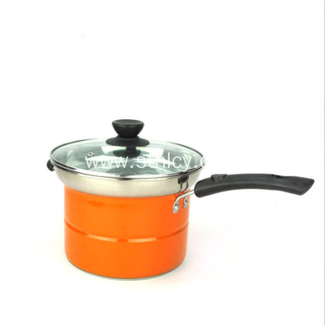 Single Handle Stainless Steel Noodle Pasta Pot