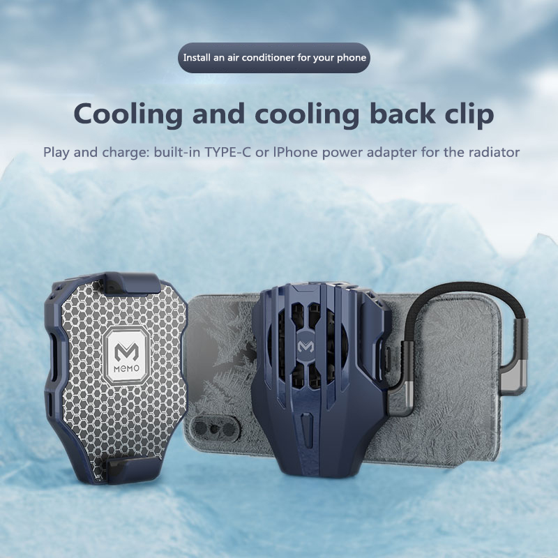Mobile Phone Cooling Mute Fan Universal Semiconductor Refrigeration Radiator USB Rechargeable Cooler Holder For Iphone Sumsamg