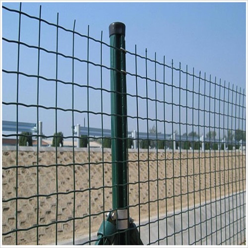 Decorative PVC Coated Dutch Mesh Euro Fencing