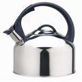 Jumbo stovetop tea kettle with whistling spout