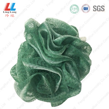 Conducive mesh mixture bath sponge