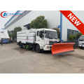 Dongfeng street cleaning vehicle mounted snow shovels