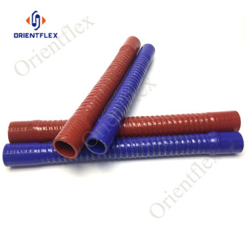 wire reinforced corrugated radiator silicone hose