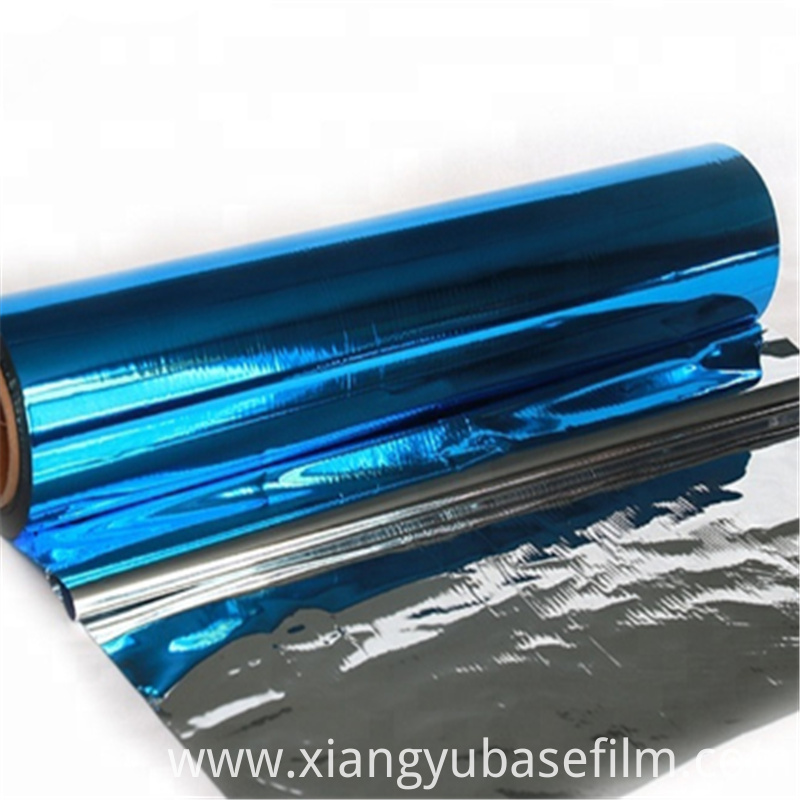 Pet Metallized Base Film