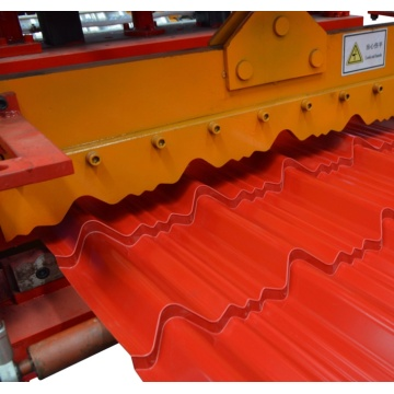 Automatic Metal Tile Sheet Glazed Forming Machine